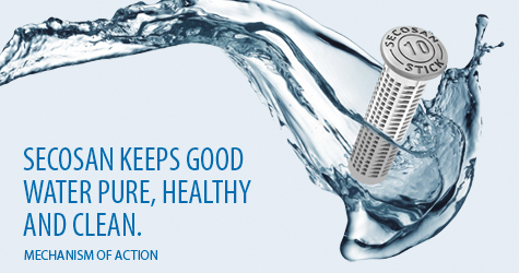 SecoSan keeps good water pure, healthy and clean.